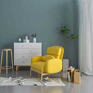 吱音品牌家具3d模型