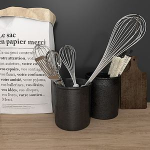 廚房用具3d模型