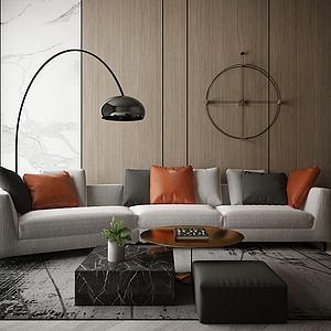 家具飾品組合沙發模型3d模型