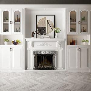家具裝飾柜模型3d模型