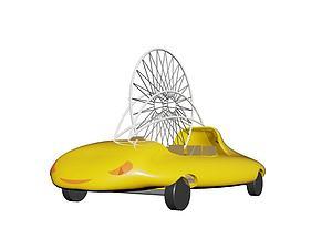 花車模型3d模型