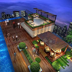 建筑景觀模型