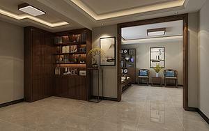 中式地下室模型3d模型