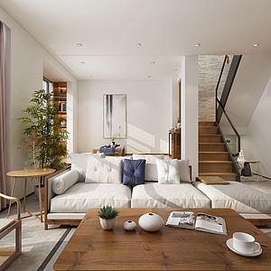 客廳組合3d模型