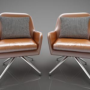 现代风格休闲椅3d模型