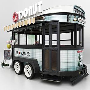 餐車3d模型