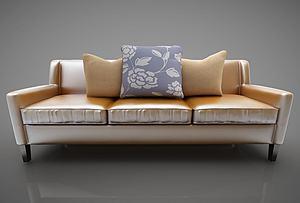 現代休閑沙發模型3d模型