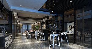 后現代風格客廳模型3d模型