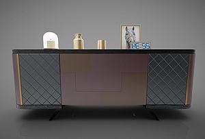 現代風格裝飾柜模型3d模型