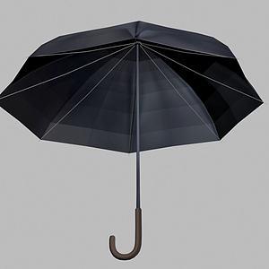 雨傘3d模型