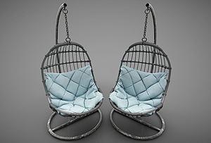 現代風格休閑沙發模型3d模型