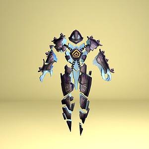 遠古巫靈·澤拉斯3d模型