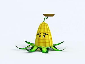 Kernel-pult玉米粒投擲機模型3d模型