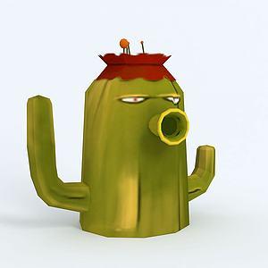 Cactus仙人掌3d模型