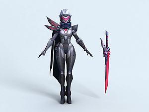 劍姬源計劃火模型3d模型