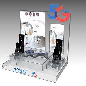 亞克力展具3d模型