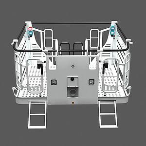 消防升降平臺3d模型
