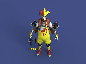 王牌小丑Joker喬克模型3d模型