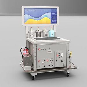 智能電焊機模型