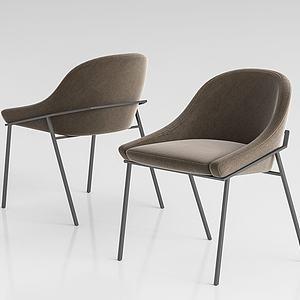 現代單椅模型