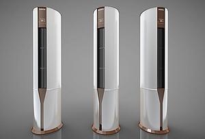 現代風格空調模型3d模型