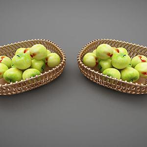 現代風格水果籃模型