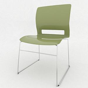 休閑會議椅模型