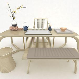 3d<font class='myIsRed'>茶桌</font>椅模型