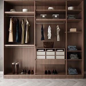 大衣柜模型3d模型