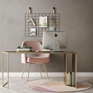家具寫字臺模型3d模型