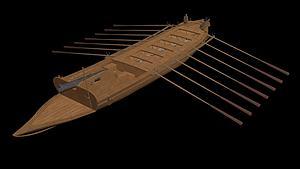 船只模型3d模型
