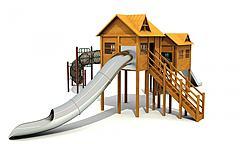3D模型木屋