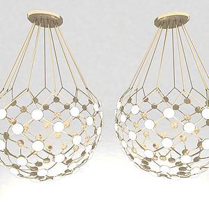 現代風格吊燈3d模型
