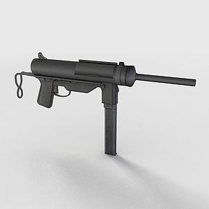 沖鋒槍3d模型