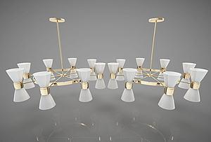 現代風格吊燈模型3d模型