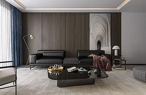 現代客廳模型3d模型