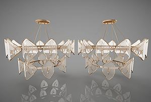 歐式吊燈模型3d模型