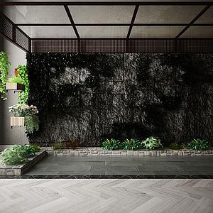 室內景觀模型3d模型