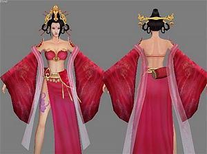 紅薔模型3d模型