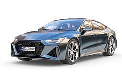 3D模型奧迪RS7汽車