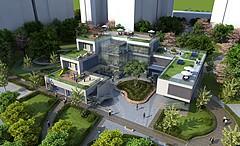 公園景觀3D模型