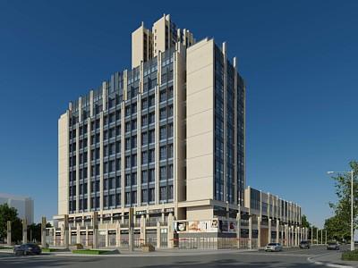 公寓辦公樓模型3d模型