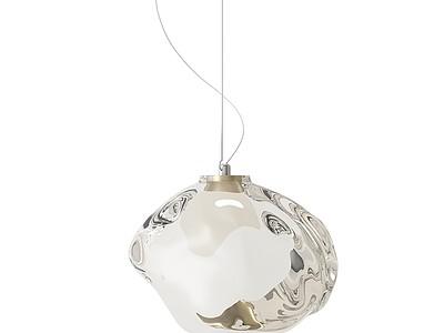 吊燈模型3d模型