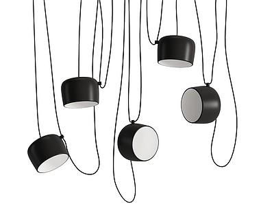 藝術吊燈模型3d模型