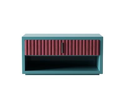 床頭柜模型3d模型