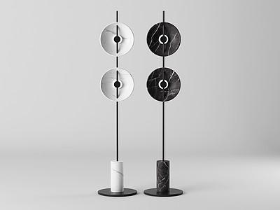 落地燈模型3d模型