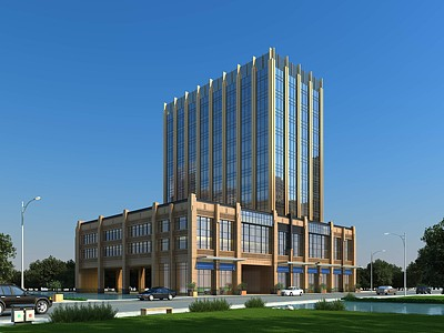 新古典酒店模型3d模型