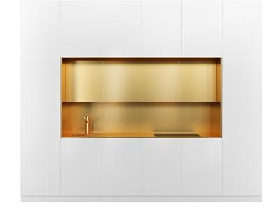 現代茶水柜模型3d模型