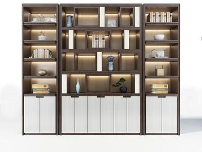 新中式裝飾柜一模型3d模型