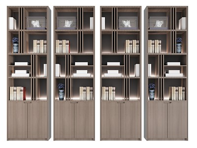 新中式裝飾柜二模型3d模型